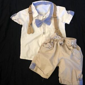 Other - Little boys dress shorts set